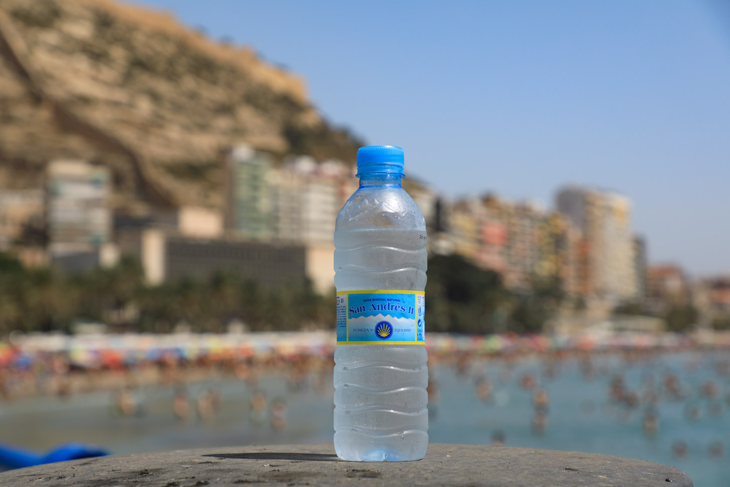 Drinkwater uit flesjes