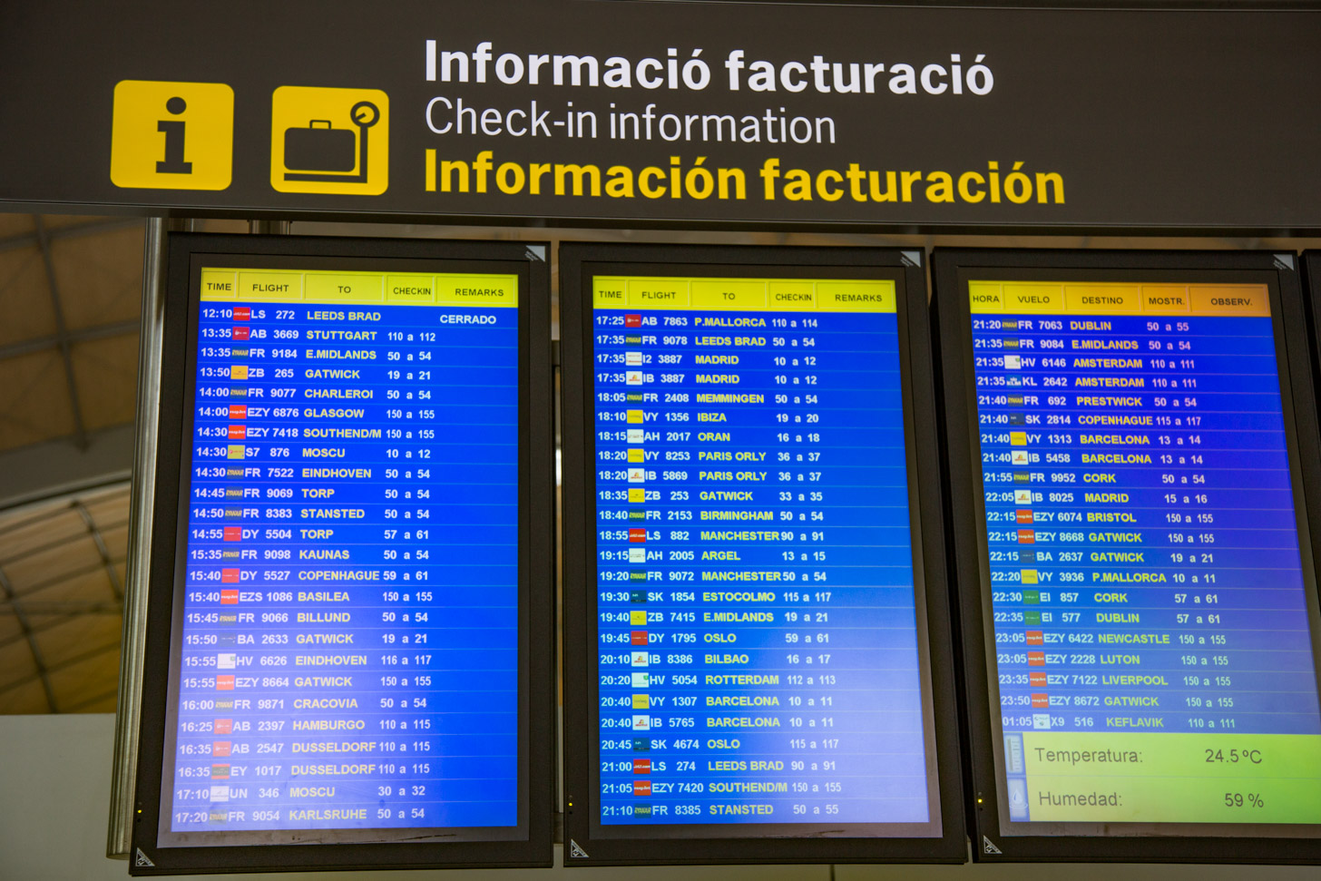 Vliegen naar Alicante